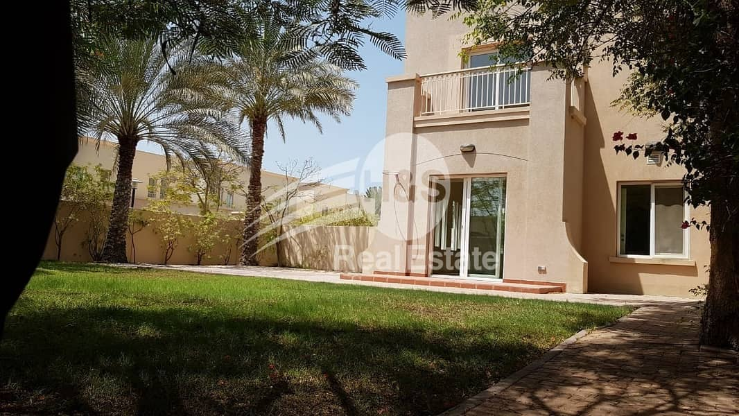 3E backing pool and Park for sale | EMAAR SPRINGS