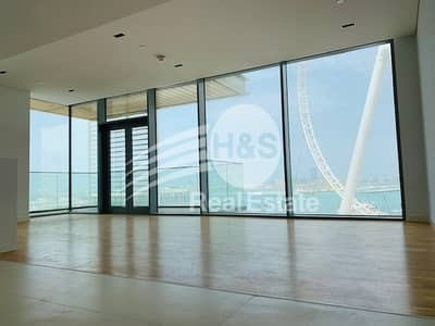 3 Bedroom Flat for Rent in Bluewaters Island, Dubai - Amazing sea view 3bhk with maids room