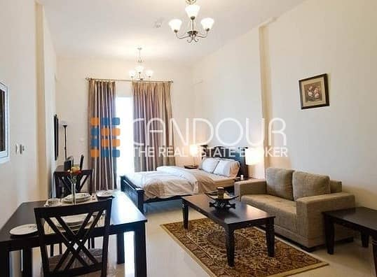 Canal View | Fully Furnished | Studio Apartment