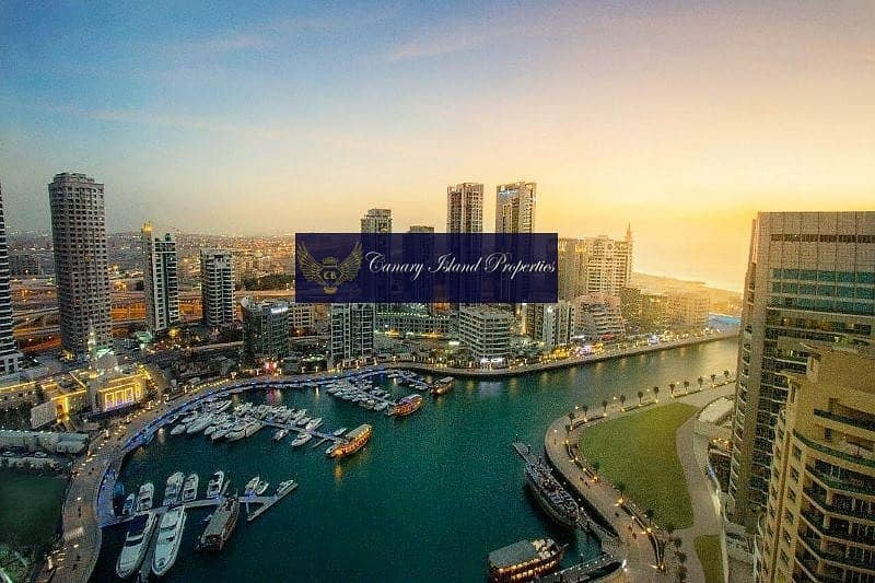 Luxurious 1BR in Dubai Marina | 0% Brokerage