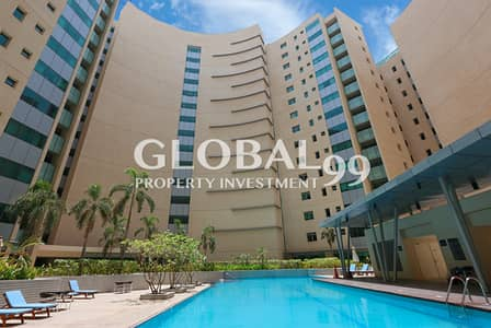 4 Bedroom Flat for Sale in Al Raha Beach, Abu Dhabi - Excellent 4+M on a High Floor with Full Sea Views