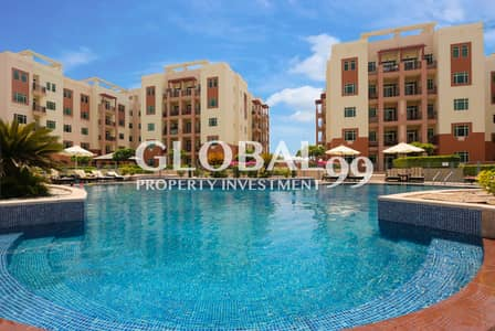 Studio for Sale in Al Ghadeer, Abu Dhabi - Hot deal Studio Apartment with pool view