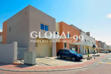 2 Bedroom Villa for Sale in Al Reef, Abu Dhabi - Extended Garden villa in Cheapest price.