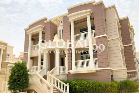 فیلا 5 غرفة نوم للايجار في قرية الفرسان، أبوظبي - 5 BR+M Family Home In A Great Location w/ Pool