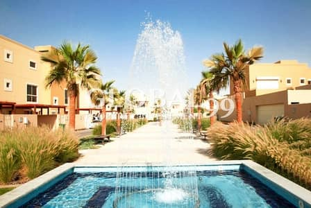 3 Bedroom Townhouse for Rent in Al Raha Gardens, Abu Dhabi - Type A | 3BR TH in Tharwaniyah Community for Rent