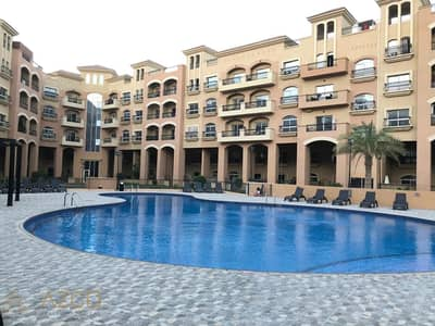 1 Bedroom Flat for Rent in Jumeirah Village Circle (JVC), Dubai - Beautiful 1BR Pool View Only for 45k in JVC