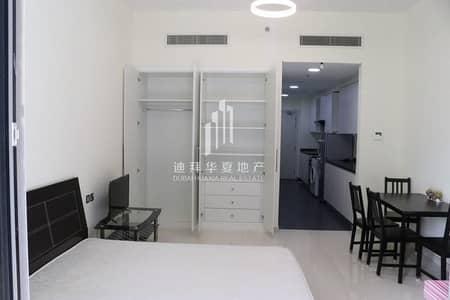 Studio for Rent in DAMAC Hills (Akoya by DAMAC), Dubai - Studio | Fully Furnished | Partial Golf View