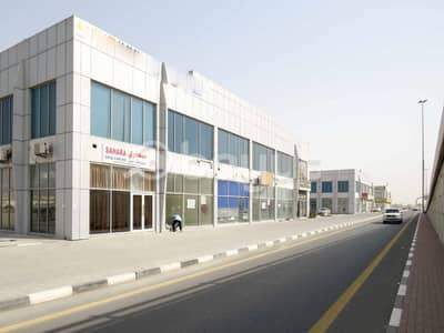 Shop for Rent in Industrial Area, Sharjah - SHOP For RENT 55K in Industrial area 13 . . 2 Month FREE . . Directly From Owner . . NO Commission