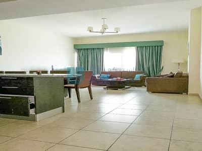 شقة 2 غرفة نوم للايجار في مثلث قرية الجميرا (JVT)، دبي - Fully Furnished 2 Bed| Pool View|Balcony