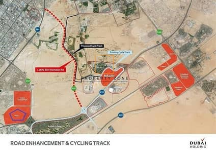 Retail and Residential Plot in Arjan - Dubailand