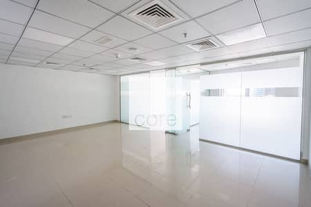 مکتب  للايجار في أبراج بحيرات جميرا، دبي - Fitted Office with Partitions | Balcony