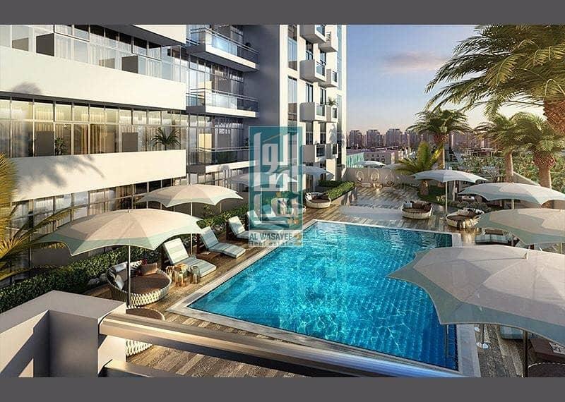 2?BD Apartment at AZIZI Aura