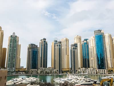 شقة 3 غرفة نوم للايجار في دبي مارينا، دبي - 3 Bedroom Dubai Marina Views Close to Metro