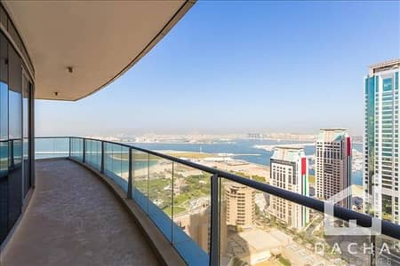 2 Bedroom Apartment for Rent in Dubai Marina, Dubai - Full sea view // 2 bedroom  //Unfurnished