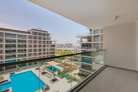 2br pool and park facing unit high floor