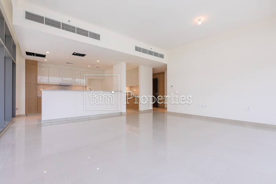 2 2br pool and park facing unit high floor