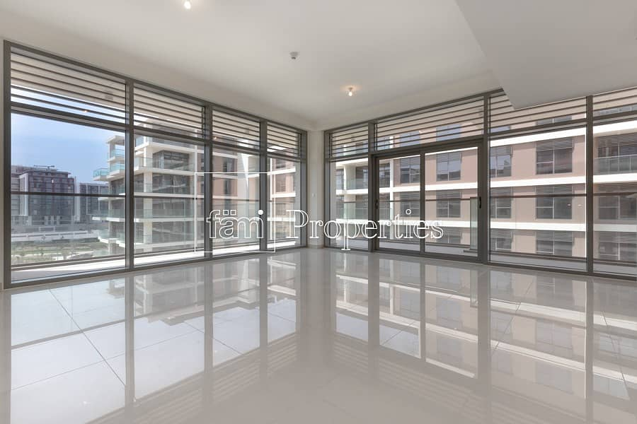 14 2br pool and park facing unit high floor