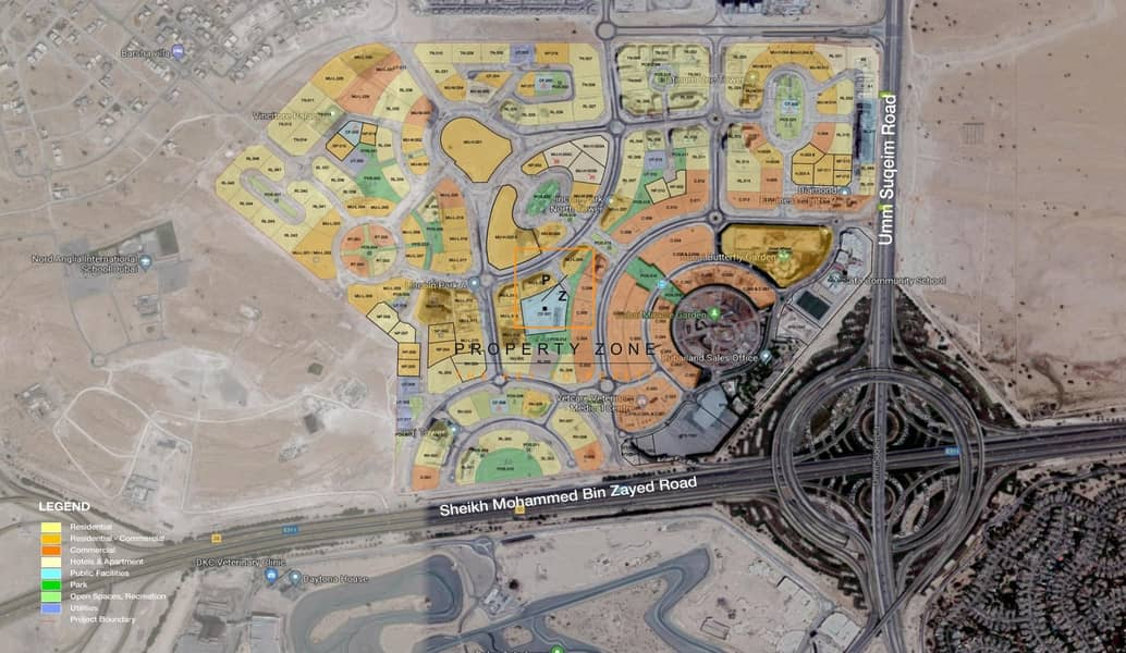15 Plot for Residential and Retail in Arjan