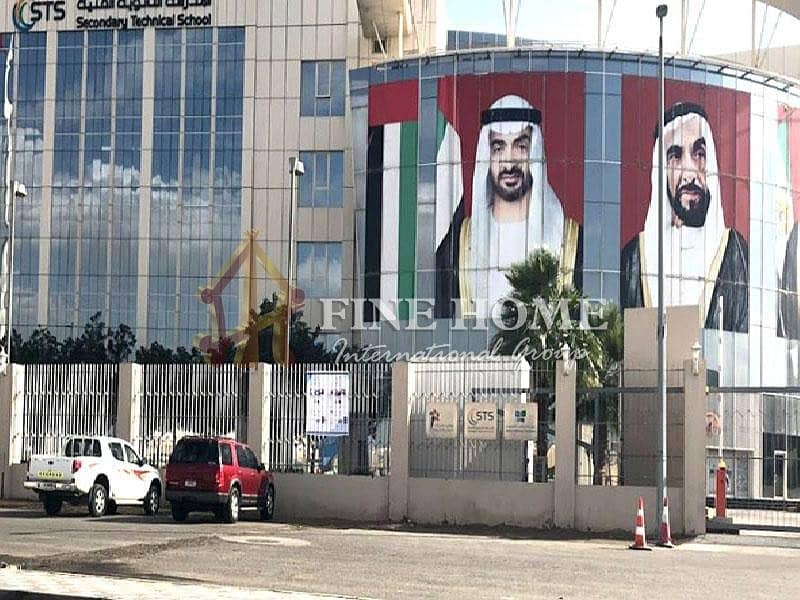 15 Corner land in Mohammed bin zayed City