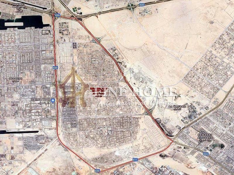 12 Residential land in Mohamed bin zayed city