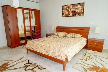 شقة 3 غرفة نوم للايجار في دبي مارينا، دبي - Low Floor | 3 beds in Al Seef | Community View