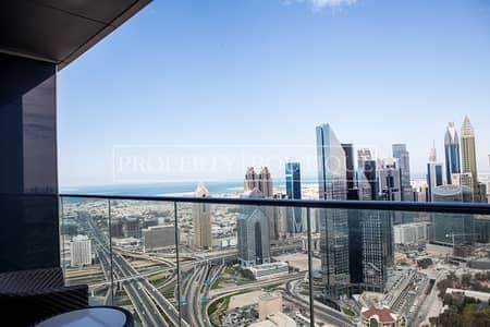 شقة 2 غرفة نوم للبيع في وسط مدينة دبي، دبي - City and Sea View | 2 Bedroom | High Floor