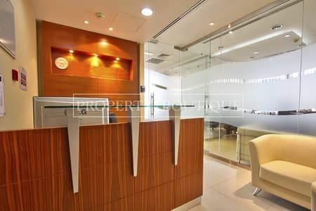 Office for Sale in Jumeirah Lake Towers (JLT), Dubai - Beautifully Furnished Office in Silver Tower
