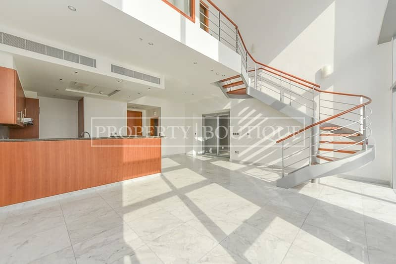 2 Rare 2 Bedroom Duplex with Terrace   Central Park