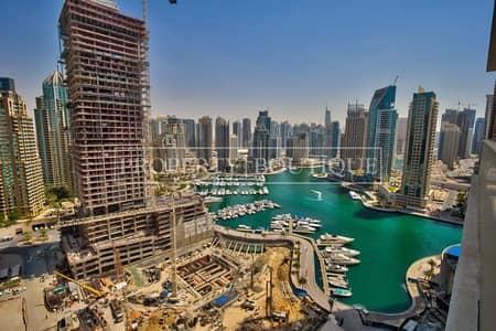 شقة 3 غرفة نوم للبيع في دبي مارينا، دبي - Large 3Bed + Maid | Stunning Marina view | Rented