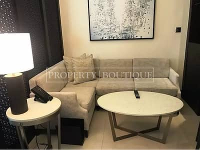 Studio for Rent in Downtown Dubai, Dubai - Furnished Studio at The Address Downtown