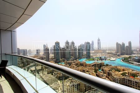 1 Bedroom Apartment for Sale in Downtown Dubai, Dubai - Full Burj and Fountain View | 1 Bed+Study