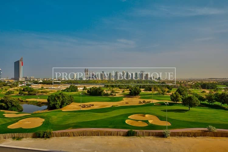 2  3 Bed with Full Golf Course views