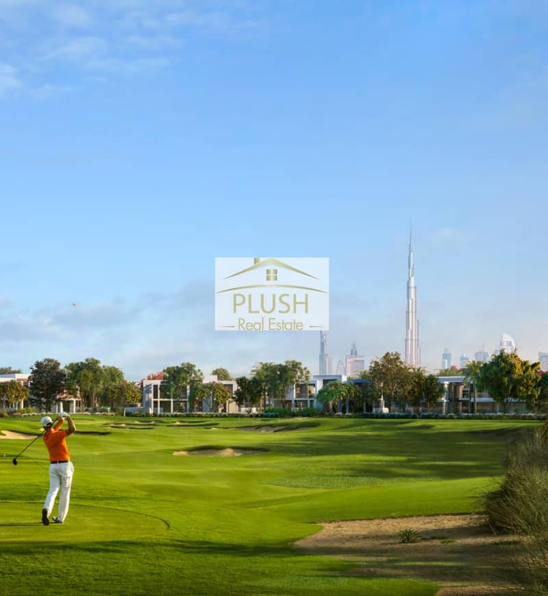10 EMAAR SPECIAL OFFER l DLD WAIVER l PREMIUM AMENITIES l 1 BED APARTEMNT AT GOLF VILLE