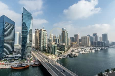 2 Bedroom Flat for Rent in Dubai Marina, Dubai - 2 BR | MarinaQuayWest | Full Marina view