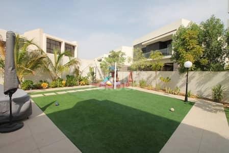 فیلا 4 غرفة نوم للبيع في داماك هيلز (أكويا من داماك)، دبي - FURNISHED 4BR I UPGRADED I LARGE CORNER PLOT