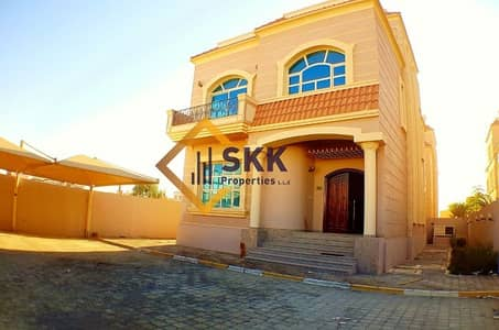 6 Bedroom Villa for Rent in Khalifa City A, Abu Dhabi - Separate 6 BR Villa|Maid Room|Covered Parking KCA