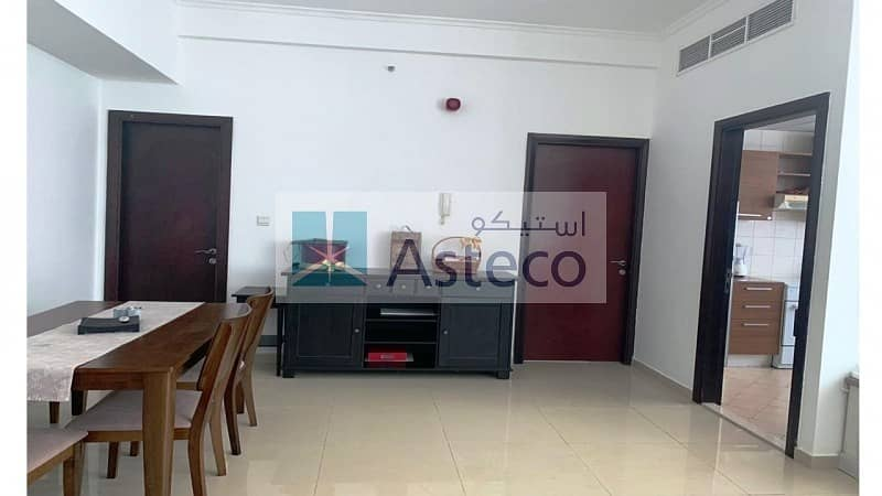 Fully-Furnished 1 Bedroom Apartment in DEC Tower