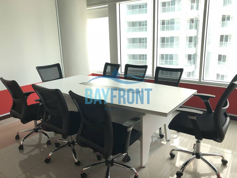 Fully Furnished Office - Clover Bay Tower | Bayut com