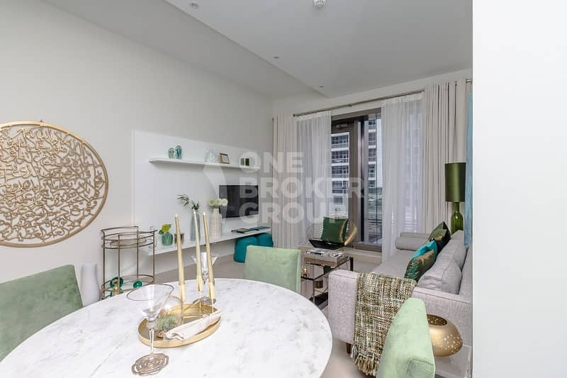 High floor|Type 4|Luxury living|Marina & sea view