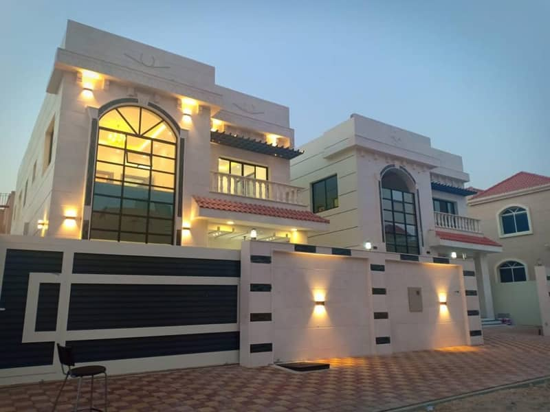 Villa for sale modern system with the possibility of bank financing