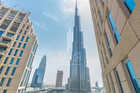 شقة 2 غرفة نوم للبيع في وسط مدينة دبي، دبي - Large 2Bedroom plus Study room Apartment