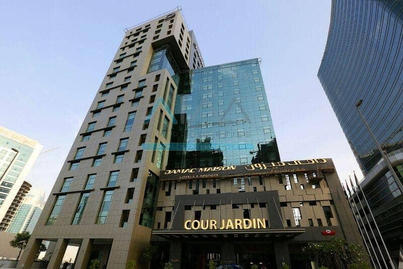 FURNISHED 1BR IN DAMAC MAISON-BUSINESS BAY