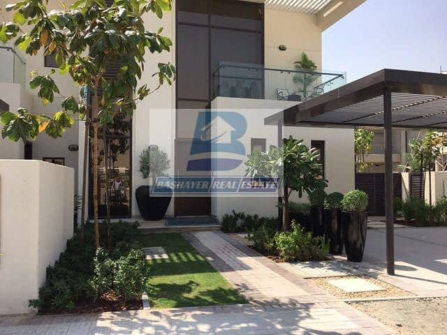 BEST Price In Dubai to Own Your Villa with Gulf view Pay Only 100 K with 4 years payment Plan