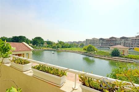شقة 3 غرف نوم للبيع في موتور سيتي، دبي - 3BR Terrace Apartment | Full Lake View