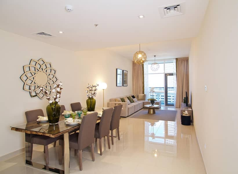 2 Special Offer at Duja Tower - 3 bedroom spacious apartment available with affordable rates.