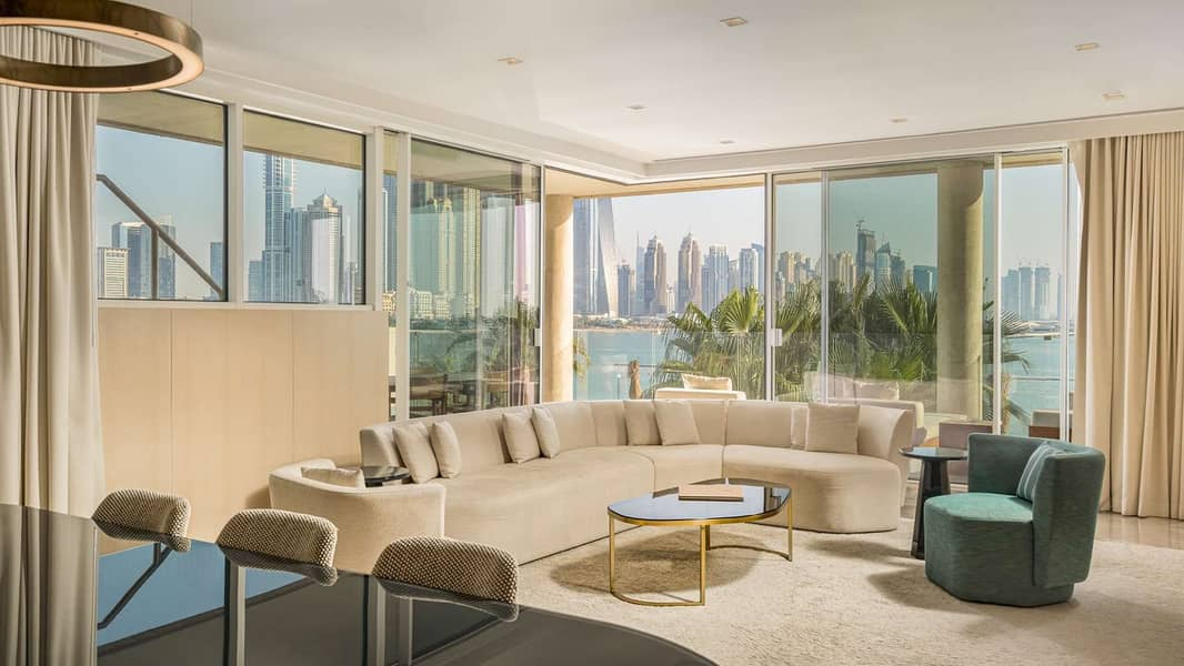 Four Bedroom Penthouse with Private Pool at FIVE Palm Jumeirah