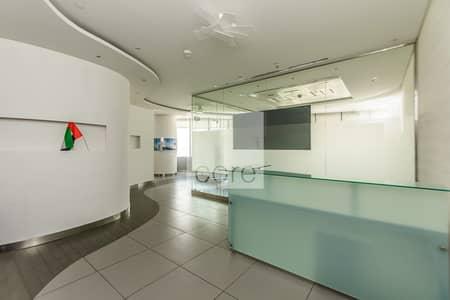 مکتب  للايجار في أبراج بحيرات جميرا، دبي - Fitted Office | Lake View | Low Floor