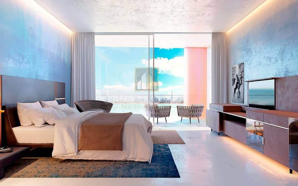 Full Sea View 1BR with High ROI
