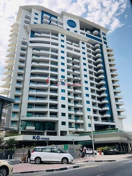 2 Stunning view of  a sea a Huge 3 bed Plus maid+5 Bath in KG Tower
