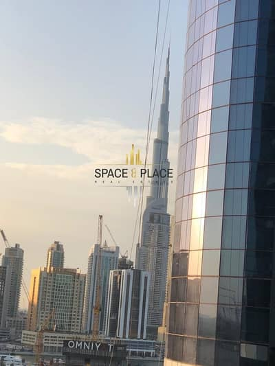 3 Bedroom Hotel Apartment for Rent in Business Bay, Dubai - For Rent: 3BR + Maid's Luxury Hotel Apartment | 200K / 6 CHQS | Burj Khalifa and Creek View